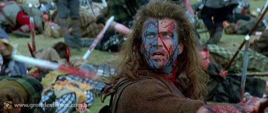 Mel Gibson em Coração Valente
