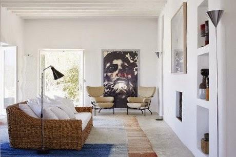 modern contemporary lounge sofa design with white theme colour