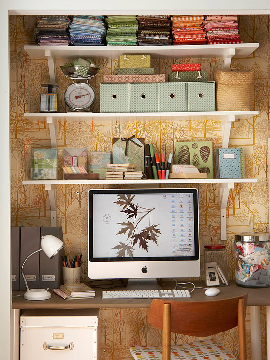 Home Office Storage Ideas For Small Spaces Part - 43: 2013 Home Office Storage Ideas