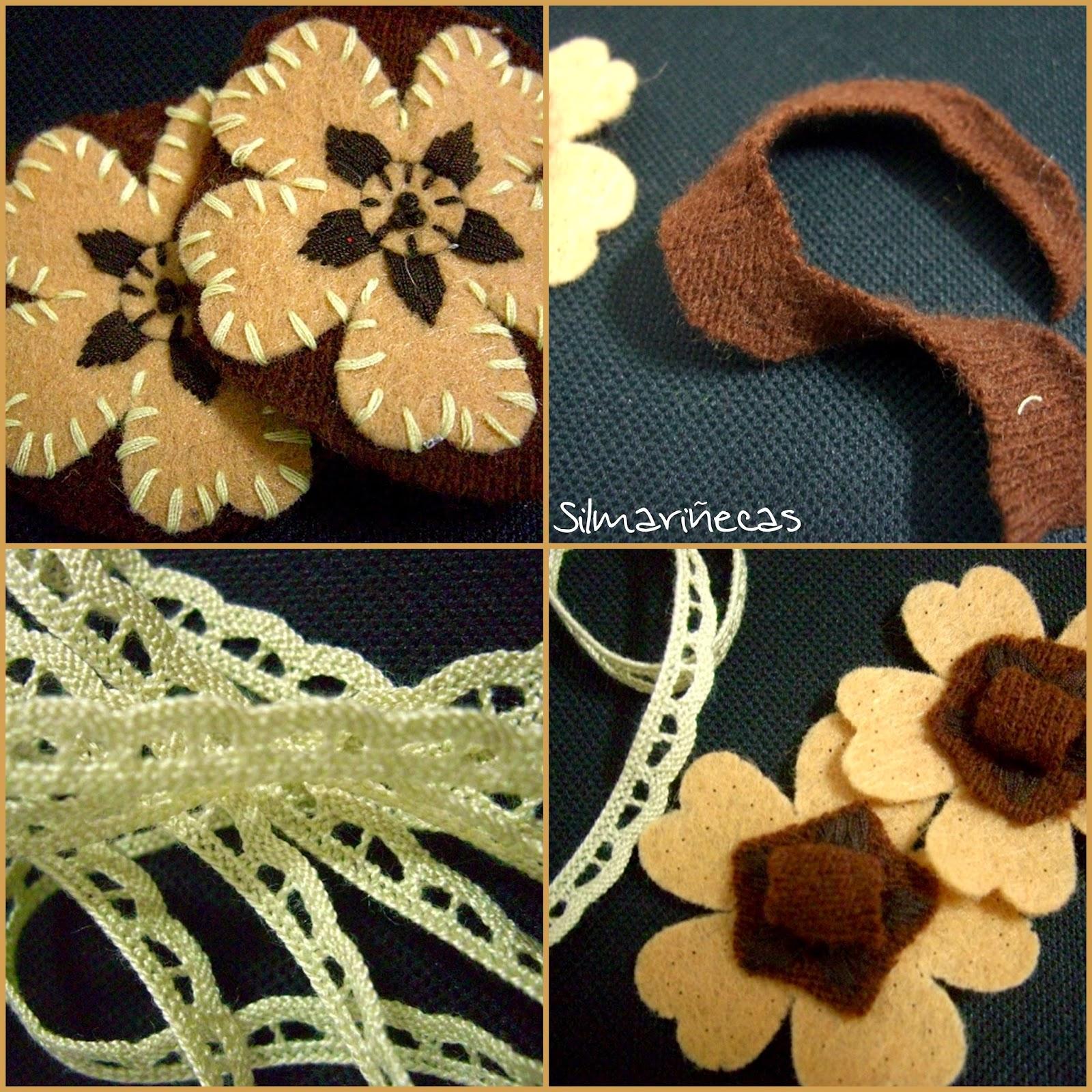 cómo hacer una tiara fácil con flor de fieltro