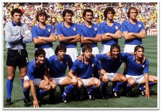 1982 Football World Cup winning Team