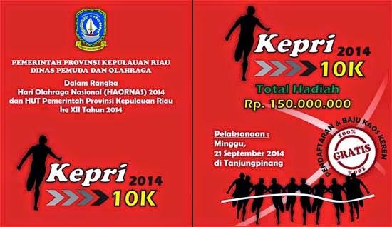Lomba Lari KEPRI 10K