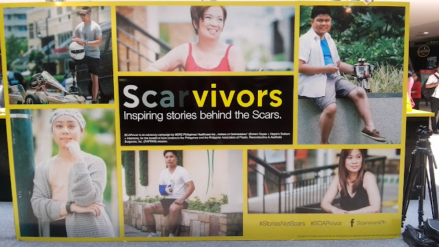 Last August 27, 2015, 10:00 AM was the press launch of the SCARvivors advocacy by leading scar management brand, Contractubex, held in Amici in Megamall.