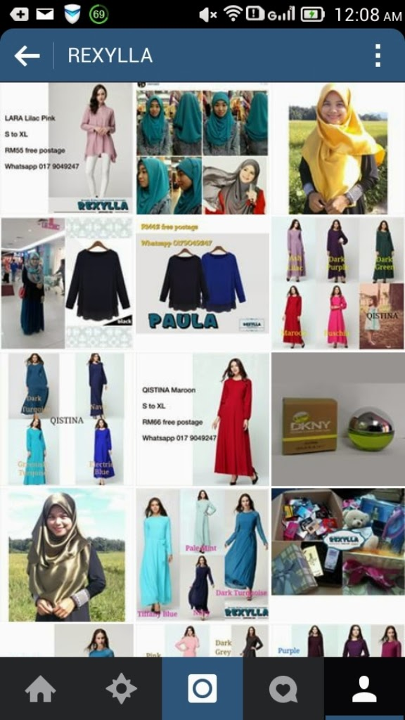 rexylla, blogshop, ig shop, fesyen, blouse, maxi dress, hijab, perfume