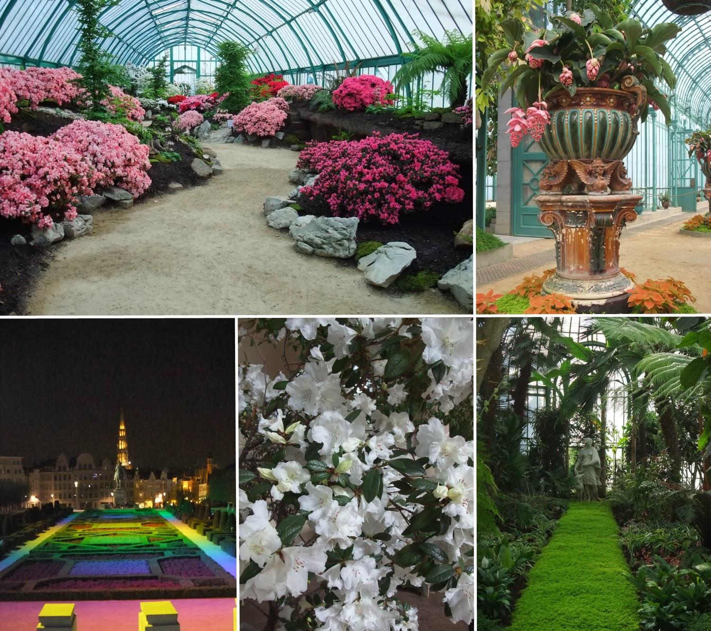 Brussels Bruxelles Laeken greenhouse Mont des Arts