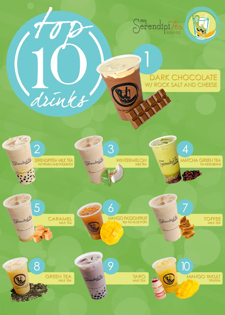 My SerendipiTea  Top 10 drinks