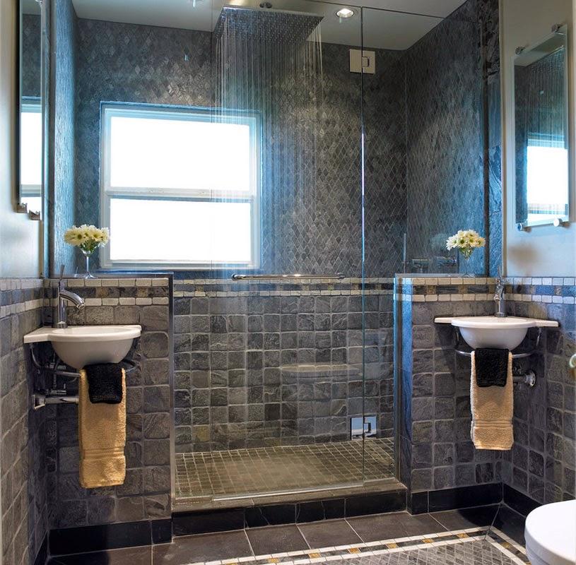 Модные ванные комнаты 2016 фото