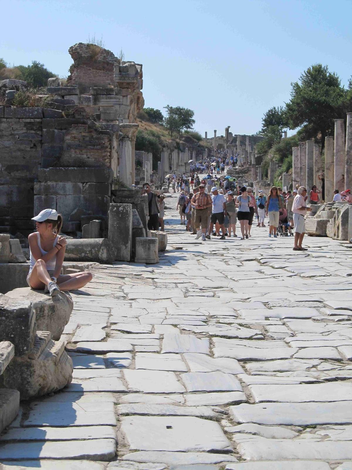 Two Wheels move the Soul: Ephesus (Efes)