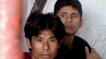Rape accused Ran Bahadur Rai and Subash Rai.