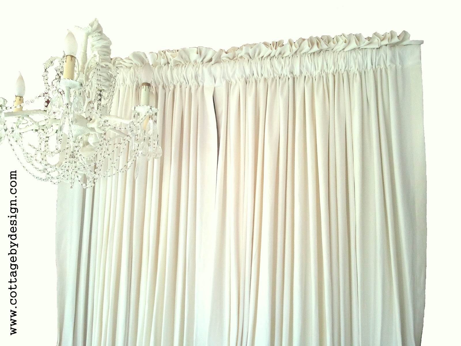 Cottage by Design with Trish Banner: Curtains
