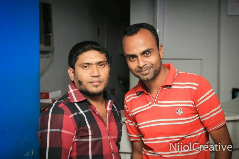 With Taher Chowdhury Sumon
