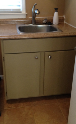 Utility Sink With Countertop : CasaLupoli: Laundry Room Update: The Sink and CounterTop