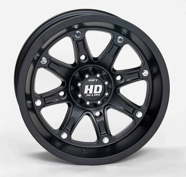HD4 Limited Edition Matte Black Wheel
