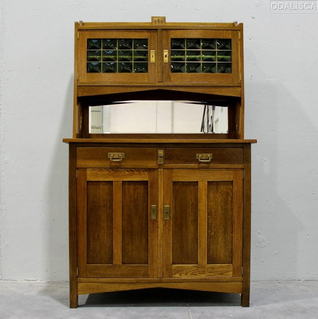Odalisca madrid art nouveau art deco dise o del siglo xx vintage mobiliario art nouveau - Aparador art deco ...