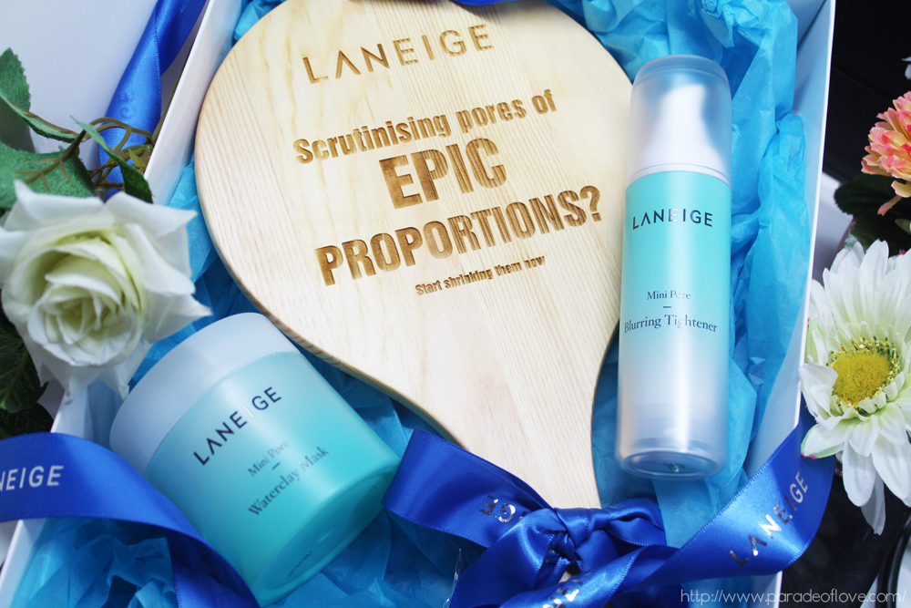 LANEIGE's Mini Pore series