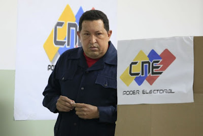 Presidente Chávez hace un llamado a reconocer resultados