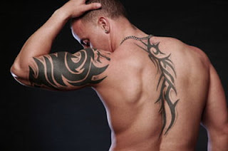 Tribal Shoulder Tattoos Designs