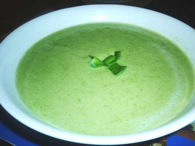 healthy,easy Celery soup