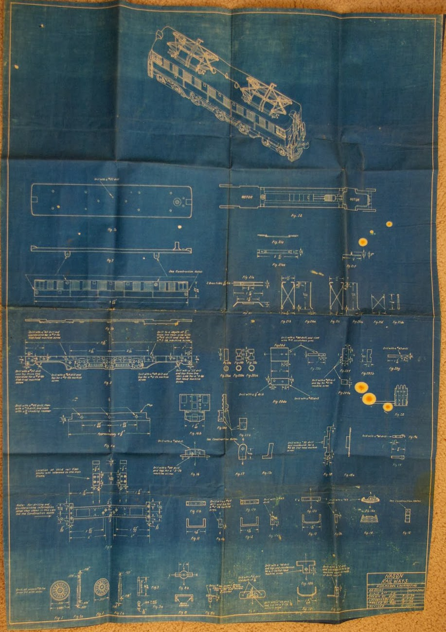 American oo today blueprints for the nason p5a the big photo is of the blueprint itself it is in a word huge a real blueprint and roughly the size of eight sheets of paper malvernweather Images