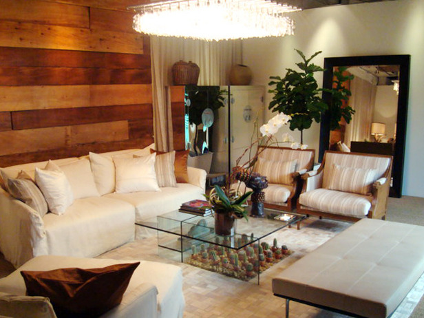 J allen 39 s design portfolio from hgtv design star season for Modern shabby chic living room ideas