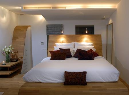 El hogar bricolgage y decoraci n la cama king size - Camas grandes ...