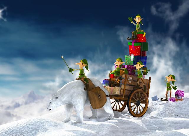 christmas art images