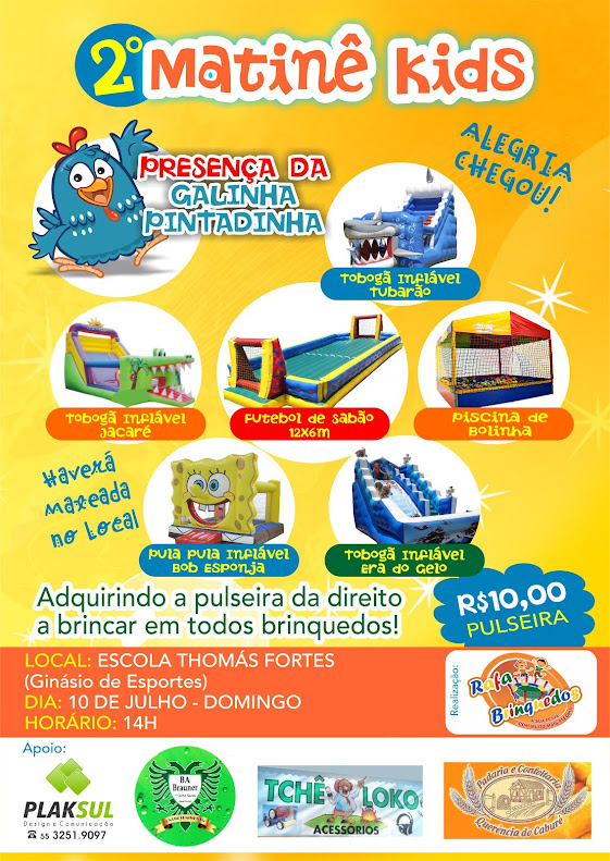Matinê Kids da Rafa Brinquedos!