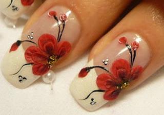 nokti slike cvetni motivi na noktima 8