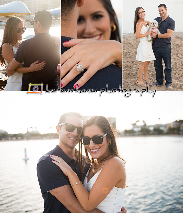 Alexandra & Chris at The Mother's Beach for their engagement session in Summer 2015