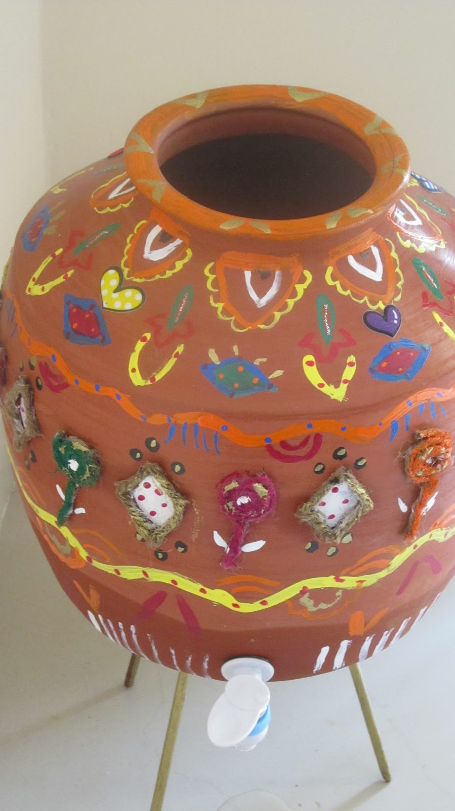 creative ideas pot painting
