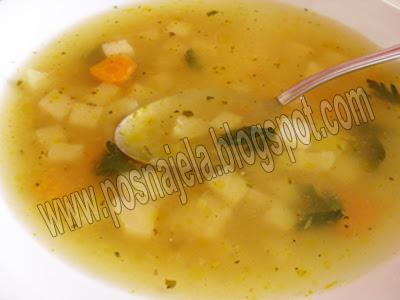 Посна супа од келерабе
