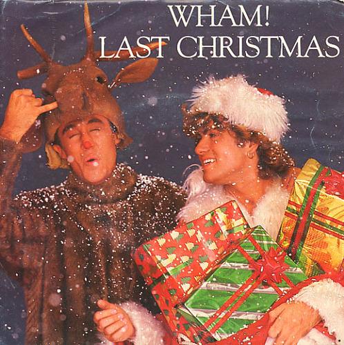 """Last Christmas 7"""" vinyl sleeve"""