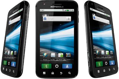 Motorola Atrix on Orange UK