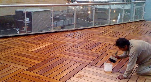Arte en pisos de madera - Instalacion piso madera ...