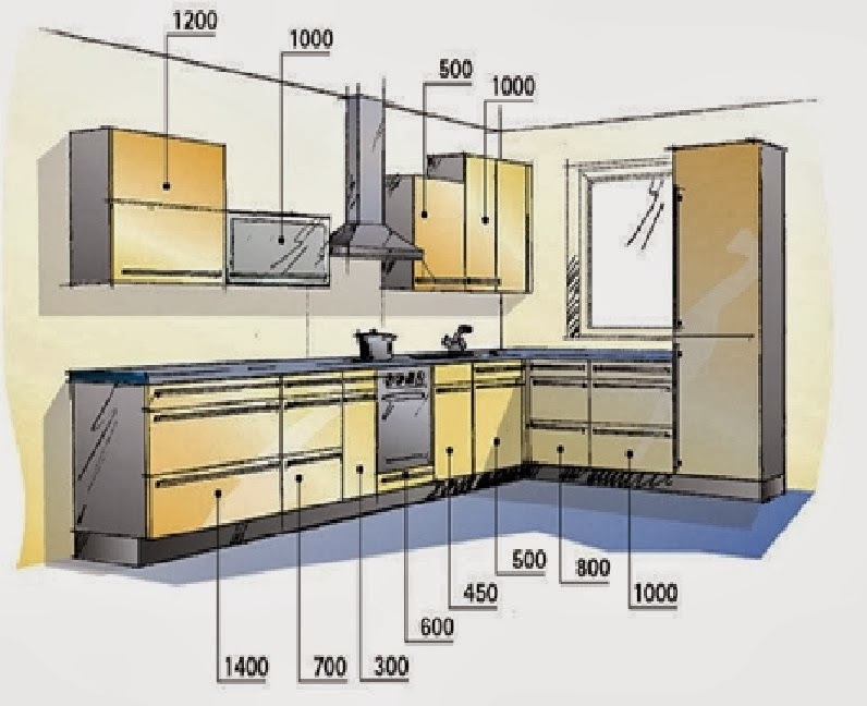 3 temporary kitchen cupboards cad block and kitchen for Autocad kitchen cabinets