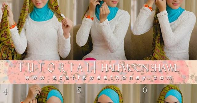 Qalesya duoTone Collection: TUTORIAL HIJAB...!!