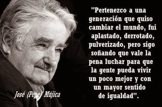 Frase de Mujica