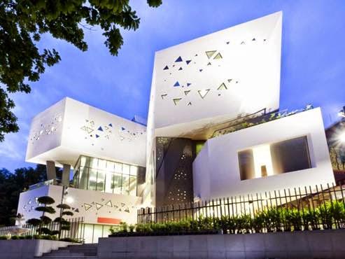 Chùa Ananda Metyarama Thai Buddhisttại Singapore - Kiến trúc sư Czarl thiết kế (lọt vào danh sách các công trình Tôn Giáo)