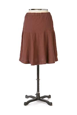 Anthropologie Soft Serve Skirt