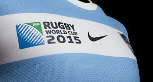 Nueva camiseta de Los Pumas para el mundial de Inglaterra