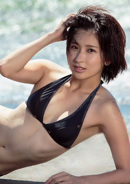 Fujita Misato 藤田美里 Weekly Playboy No 36 2015 Pics 4