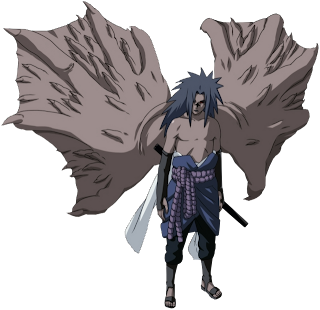 Sasuke Cursed Seal Level 2, monster form