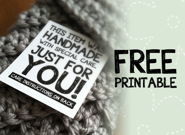 best of free printable tags labels for handmade gifts With handmade for you labels