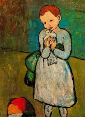 El nen amb la coloma (Pablo Picasso)