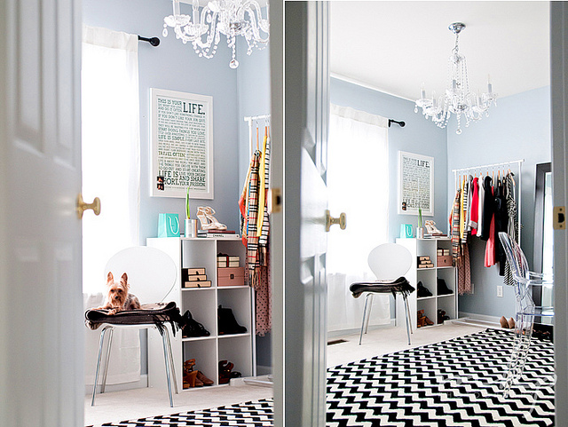 Lovely Budget Closet Office Ideas