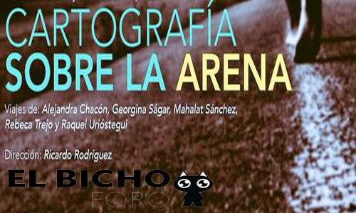 """Corta temporada de la obra """"Cartografía sobre la arena"""" de Ricardo Rodríguez"""