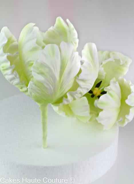 Curso de tulipanes de azúcar de Patricia Arribálzaga