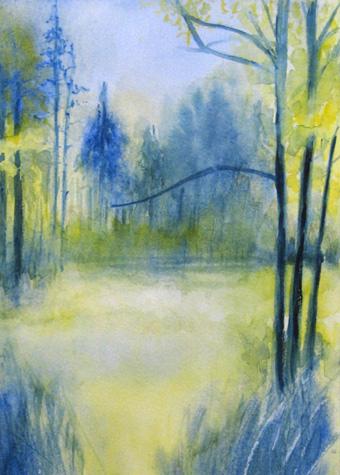 Rita vaselli watercolors a scuola di acquarello con for Quadri facili da dipingere