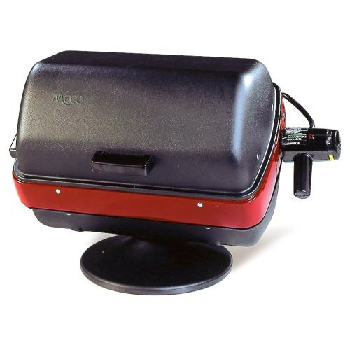 Electric Grill Outdoor Meco 9300 Deluxe Tabletop Electric