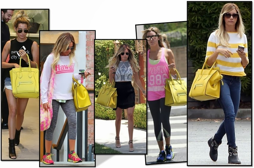 ashley tisdale bolso celine